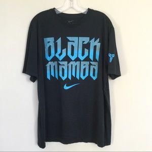 NIKE Dri-Fit Black Mamba Graphic Tee Sz XL